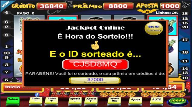 Halloween Caça Niquel Video Slot screenshot 11