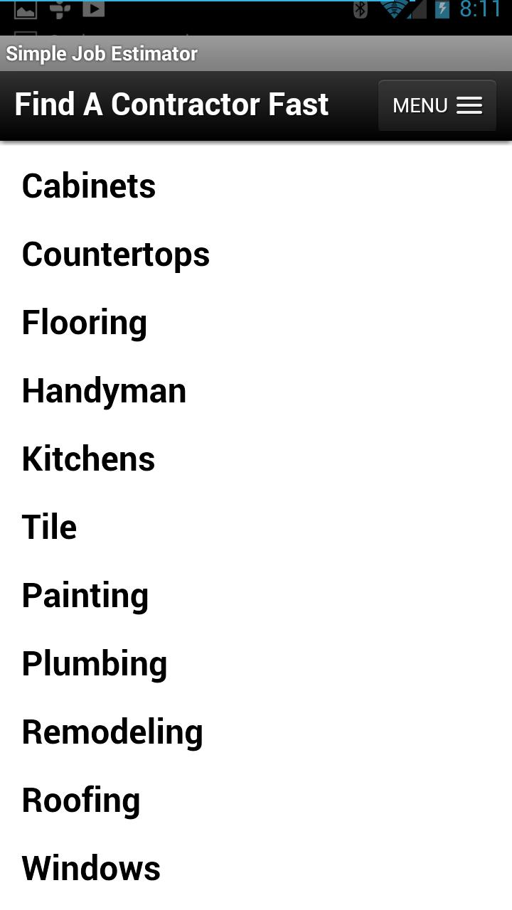 Find A Contractor >> Find A Contractor Fast For Android Apk Download
