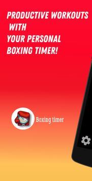 Boxing Interval Timer الملصق