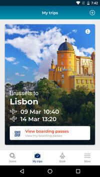Brussels Airlines poster