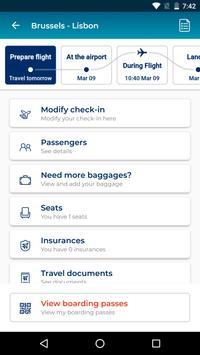 Brussels Airlines screenshot 1