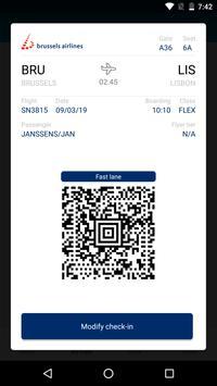 Brussels Airlines screenshot 2