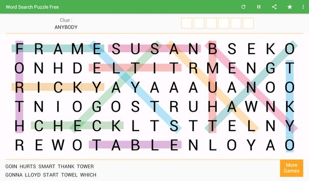 Word Search تصوير الشاشة 6