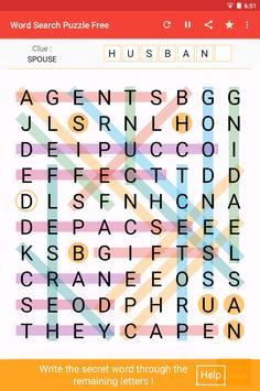 Word Search تصوير الشاشة 13