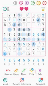 Sudoku Gratis Español captura de pantalla 1