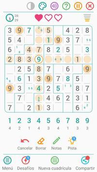 Sudoku Gratis Español captura de pantalla 2