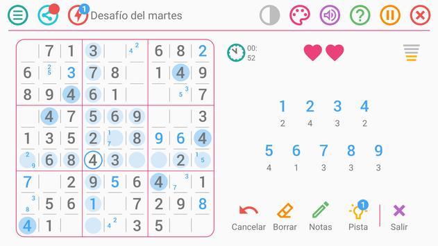 Sudoku Gratis Español captura de pantalla 4