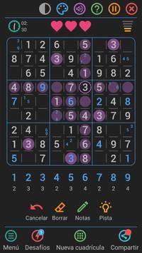 Sudoku Gratis Español captura de pantalla 5