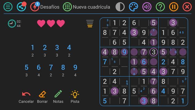 Sudoku Gratis Español captura de pantalla 6