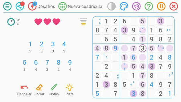 Sudoku Gratis Español captura de pantalla 7