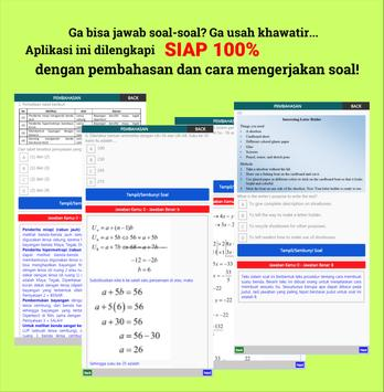 100% Siap Jawab Soal UNBK-USBN-UNKP 2019 SMP/MTs screenshot 7
