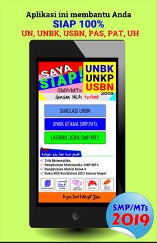 100% Siap Jawab Soal UNBK-USBN-UNKP 2019 SMP/MTs poster