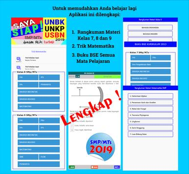 100% Siap Jawab Soal UNBK-USBN-UNKP 2019 SMP/MTs screenshot 13