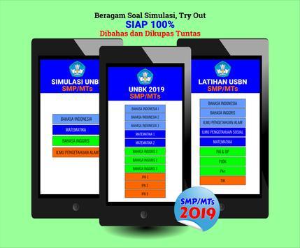 100% Siap Jawab Soal UNBK-USBN-UNKP 2019 SMP/MTs screenshot 3