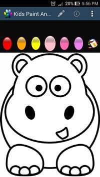 Kids Paint - Animal poster
