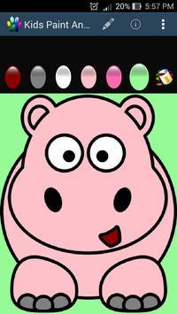 Kids Paint - Animal screenshot 1