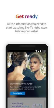 Sky App poster