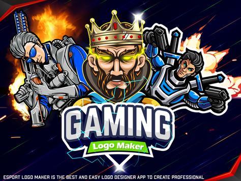 Esports Logo Maker - Gaming Logo Creator App poster