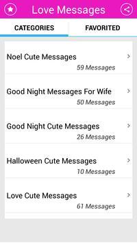 Love Messages screenshot 4