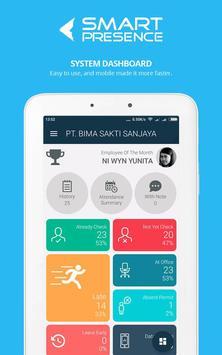 SmartPresence Dashboard poster