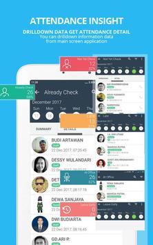 SmartPresence Dashboard screenshot 1