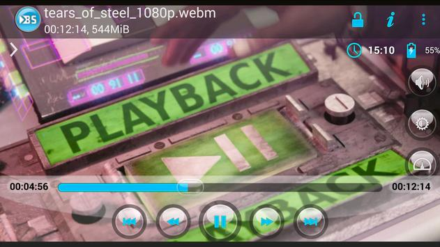 BSPlayer ARMv7 VFP CPU support スクリーンショット 1