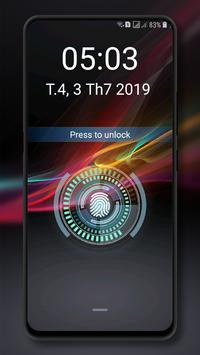 Fingerprint lockscreen simulated Prank screenshot 12