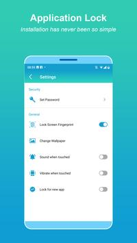 App-vergrendeling - Vingerafdruk screenshot 4