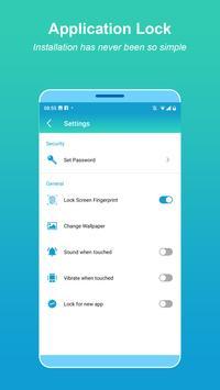 App-vergrendeling - Vingerafdruk screenshot 13