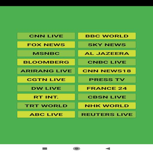 WORLD NEWS - LIVE STREAM for Android - APK Download