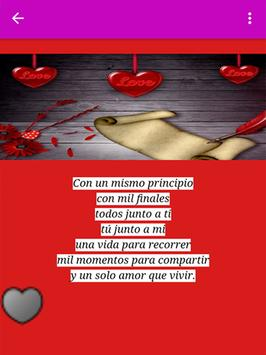 Cartas de amor románticas screenshot 2
