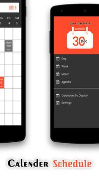 Calendar Schedule screenshot 1