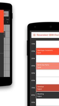 Calendar Schedule screenshot 2