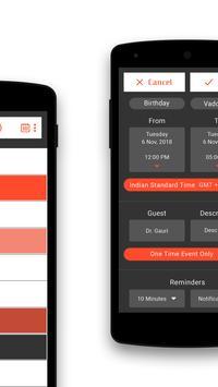 Calendar Schedule screenshot 3