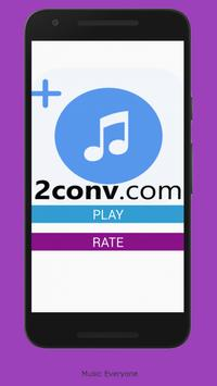 2CONV MUSIC MP3 poster