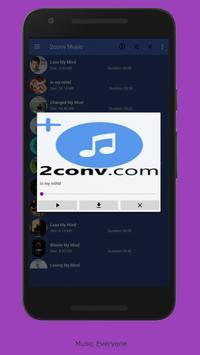 2CONV MUSIC MP3 screenshot 3