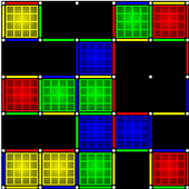 Dots and Boxes (Neon) icon
