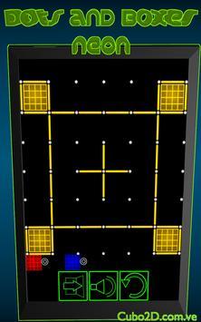 Dots and Boxes (Neon) screenshot 3