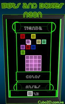 Dots and Boxes (Neon) screenshot 12