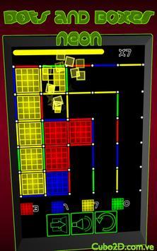 Dots and Boxes (Neon) screenshot 13