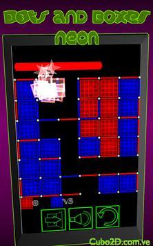 Dots and Boxes (Neon) screenshot 1