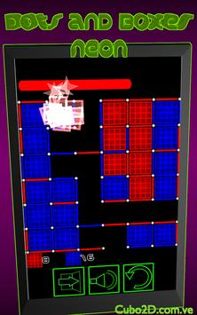Dots and Boxes (Neon) screenshot 8