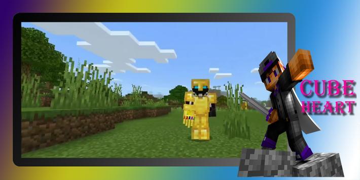 Gauntlet Infinity mod MCPE screenshot 1