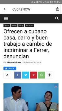 Cubita NOW - News from Cuba screenshot 4