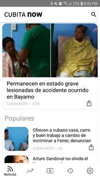 Cubita NOW - Noticias de Cuba скриншот 1