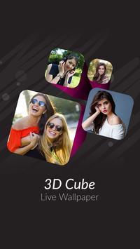 3d Cube Live Wallpaper screenshot 1
