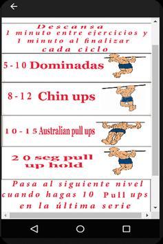 Entrenamiento de Espalda - Sin pesas screenshot 1