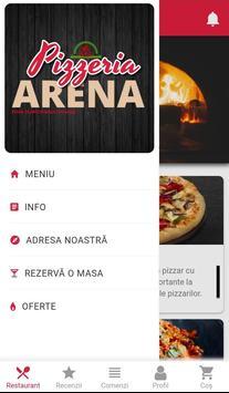 Pizzeria Arena - comenzi online poster