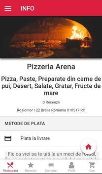 Pizzeria Arena - comenzi online screenshot 6