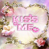 Flower Heart Kiss Me Live Wall icon